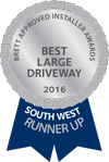 BAI Best Large Driveway 2016 South West Runner-up