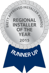 BAI Regional Installer of the Year 2015 Runner-up